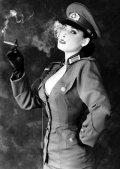 Dita in Uniform
