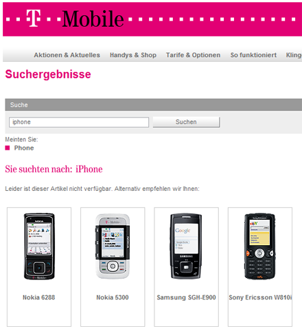 iPhone Alternative von T-Mobile?