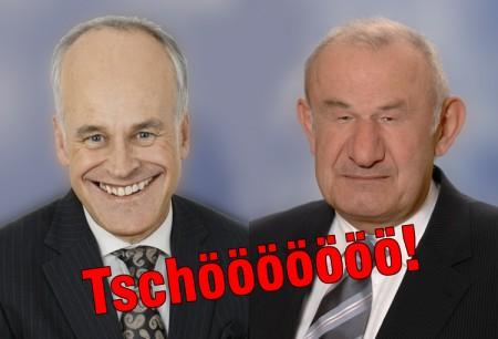 Tschööööö Huber und Beckstein